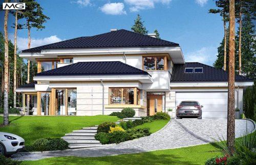 Projekt Dom z widokiem 3