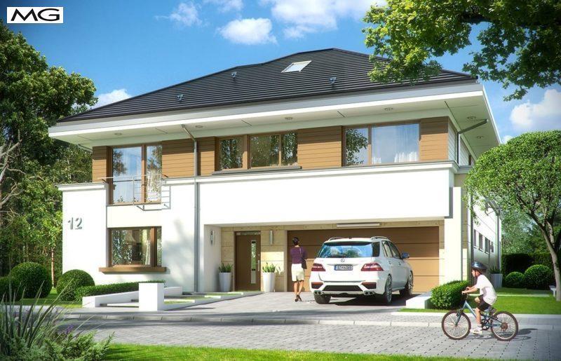 Projekt domu Rezydencja Leśna