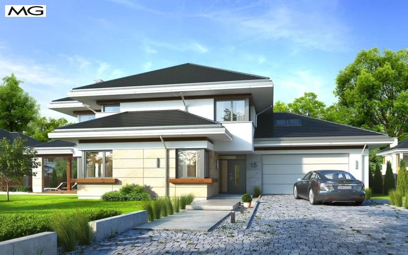 Projekt domu Dom         z widokiem 6
